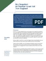 Student Aid_NE States Fall 2012_rev Dec2012