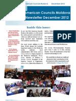 American Councils Moldova Newsletter December 2013