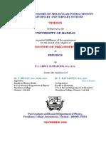 Ultrasonic Study Thesis Ph.D