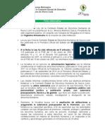 28/12/12 - Aspectos relavantes de la Iniciativa de Ley de la CEDHNL