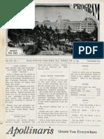 Palm Beach Daily Program Jan. 21, 1913