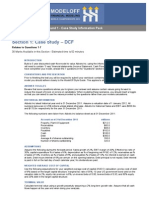 ModelOff Round 1 - Case Study Infomation