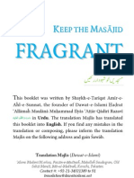 Keep the Masajid Fragrant