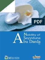 Nobility of Sayyiduna Abu Darda Radi Allahu Anhu