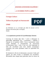 Contre-Informations Georges Luckacs 1940