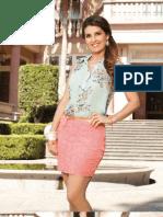 "Catálogo de línea Primavera Verano 2013 ""Mayrín Villanueva"""