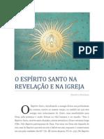 O Espírito Santo na Revelação da Igreja