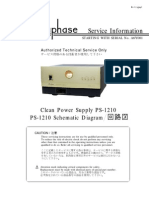 Accuphase PS-1210 Service Manual