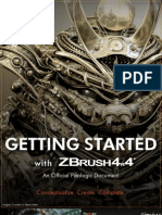 ZBrush Getting Started 4R4