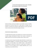 Prevención de Alergias y Asmas en Niños. Consejos para Tener en Cuenta
