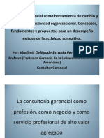 PresentaciónConsultoríaGerencial-CongresoInternacionalPsicología