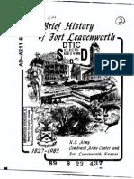 Fort Leavenworth History (1827-1983)