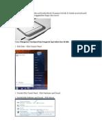 Touchpad adalah area pada notebook.doc