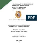MONOGRAFÍA GRADUACIÓN ORTODONCIA - LUIS ARRIOLA GUILLÉN