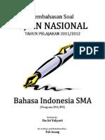 Pembahasan Soal UN Bahasa Indonesia SMA 2012