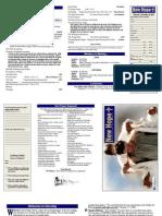 December 30 Worship Bulletin