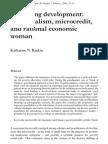 Governing Development Neoliberalism_ Microcredit_ and Rational Economic Woman