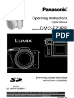 LumixDMC FZ3 Manual