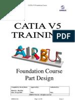 Airbus Catia V5 Part Design