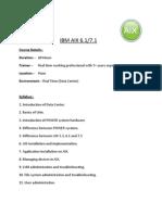 IBM AIX VERSION 7