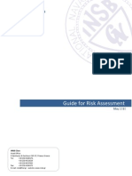 GUIDE TO RISK ASSESSMENT