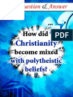 How did Christianity become mixed with polytheistic beliefs.pdf