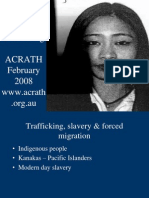 Australian Responses to Human Trafficking-ACRATH Feb2008