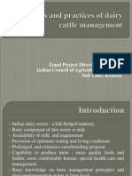 Principles Practices Dairy Mgt