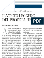 Claudio Magris Su Theodor Herzl - Corriere Della Sera 29.12.2012