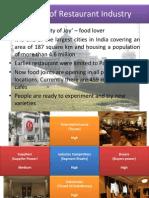 creation of restaurant