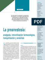 Monográfico de anestesiología veterinaria