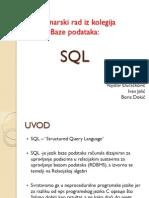 Baze Podataka SQL(Zagreb)
