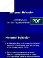 maternal behaviour