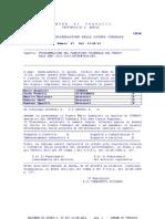 TRASACCO 130812, DELIBERA  67 DELLA G.M.