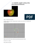 Creating a Realistic Apple Using Only Procedural Textures - Copy