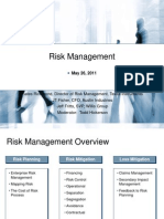 04 - 1110am - Risk Management - Fisher, Fritts, Hickerson, Richmond - Slides - Copy