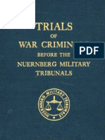 Nuremberg Tribunal Green Series 13