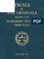 Nuremberg Tribunal Green Series 14
