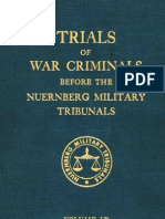 Nuremberg Tribunal Green Series 9