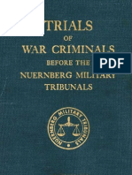 Nuremberg Nuremberg International Military Tribunal Green Series Vol  3