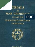 Nuremberg Tribunal Green Series 15