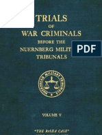 Nuremberg Nuremberg International Military Tribunal Green Series Vol  5