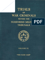 Nuremberg International Military Tribunal Green Series Vol 6
