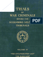 Nuremberg International Military TribunalTribunal Green Series 4
