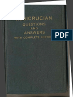 AMORC - Rosicrucian Questions and Answers (1929) First Edition!!!