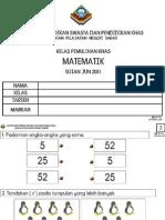 Ujian Matematik Jun 2011 Pemulihan Khas Linus Tegar Jpn Sabah Edisi Cetak