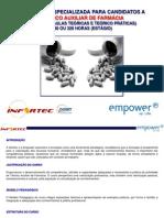 Empower_Infortec_Curso Técnico Auxiliar de Farmácia 240H_Conteúdo Programático