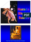 Narada Bhakti Sutras -- The Way or Yoga of Divine Love
