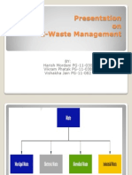 Final E-Waste Management