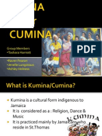 A powerpoint  on the religion Kumina